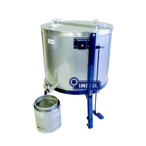 Centrífuga extratora de mel com acionamento motorizado 02